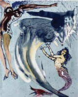 The Little Mermaid by Salvador Dali