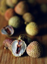 BY JUSTIN FOX BURKS - The lychee: the perfect fruit  but don't forget to spit out the seed!