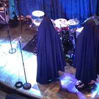 Hard Rock's New Digs The mannequins wearing Bar-Kays suits presented a curious sight before they were unveiled. Joe Boone