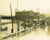 The Memphis Public Library seeks 2011 flood photos to be archived alongside historic images like this one from the 1912 Memphis flood.
