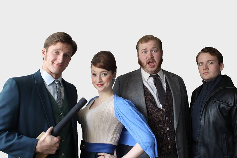 "The Cast of ""One Man Two Guvnors"""