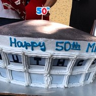 The Most Memphis-y Birthday Cake Ever?
