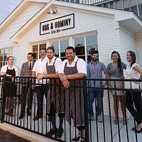 The New York Times Reviews Hog and Hominy