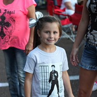 30 Photos of Elvis Fans and Their Elvis Week Shrines The next generation.