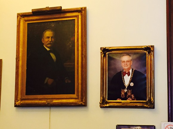 The old masters. Masons, that is.