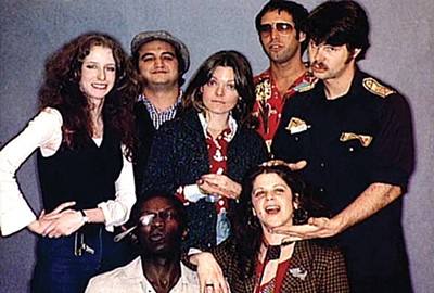 The original cast of SNL circa 1975