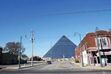 JUSTIN FOX BURKS - The Pyramid and Pinch District as they look now.