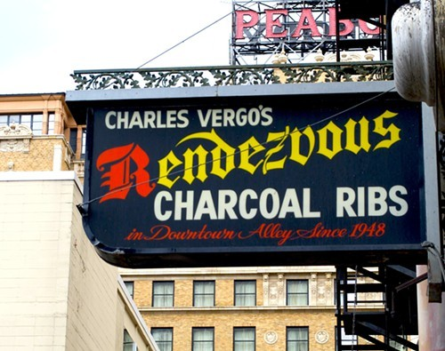 The Rendezvous has been our readers' favorite place for ribs since 1994.