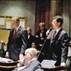 The scene inside the    Tennessee state Senate
