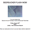 The Seersucker Flash Mob is a Real Thing