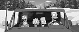 The Simpsons, Alaska-bound