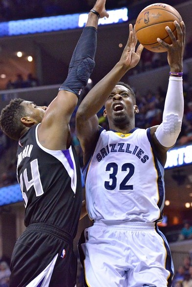Dave Joerger says the Grizzlies' ceiling is higher with Jeff Green starting than Tony Allen. - LARRY KUZNIEWSKI