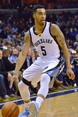 Courtney Lee's slumping Spring has been a big issue for the Grizzlies. - LARRY KUZNIEWSKI