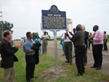 JUSTIN FOX BURKS - The unveiling of Son House's memorial marker.