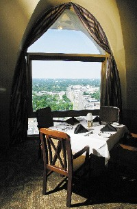 The view from the Tower Room - JUSTIN FOX BURKS