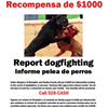 CrimeStoppers Offers $1,000 for Dogfighting Tips