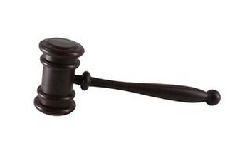 This is a gavel, which is sometimes called a skank hammer.