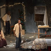 Holidays on Stage This retelling of the biblical account of the birth of Jesus, finds Mary and Joe in Nazareth to take part in a census. After finding shelter in a rundown apartment building, the couple gets help from two mysterious squatters.At The Hattiloo through Dec. 22