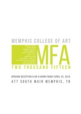 This Spring's graduating MFA's.