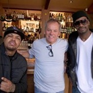 Three 6 Mafia and Wolfgang Puck