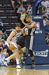 Tim Duncan and Marc Gasol go at it again tonight.