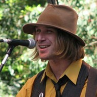 Hayes Carll and Todd Snider at the Levitt Shell