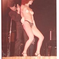 Tom Waits and a Topless Dancer at the Ritz Music Hall in Memphis, 1977 (NSFW)