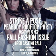 Tonight! Open Casting Call for the Memphis Flyer 2014 Fall Fashion Spread