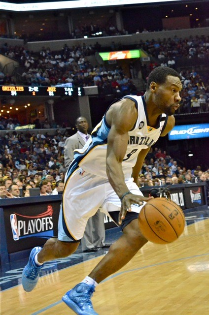 Tony Allen: The Grizzlies first order of business when free agency opens.