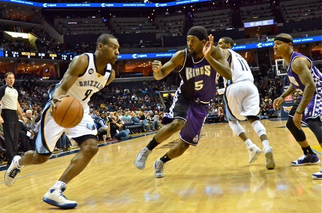 Tony Allen was in rare form against the Kings.