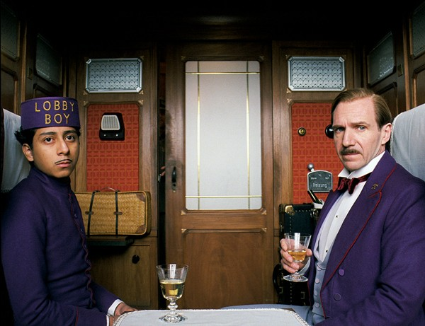Tony Revolori and Ralph Fiennes star in The Grand Budapest Hotel.