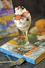 Tyler Florence's Yogurt Berry Parfait at Bront - JUSTIN FOX BURKS
