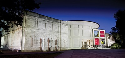 Brooks Museum of Art in Overton Park - KEVIN BARRE PHOTOGRAPHY