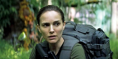 Natalie Portman stars in Annihilation, Alex Garland's new sci-fi/horror film.