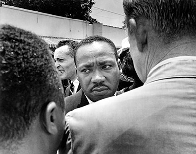 MLK at Medgar Evers' funeral - © DR. ERNEST C. WITHERS, SR. COURTESY OF THE WITHERS FAMILY TRUST