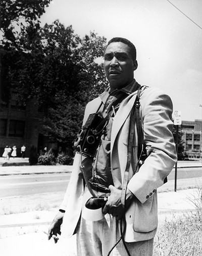 Ernest Withers in Little Rock, 1957 - © THE WITHERS FAMILY TRUST