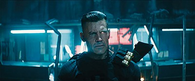Josh Brolin, fresh off his role as Thanos in Avengers: Infinity War, stars as Cable in Deadpool 2.