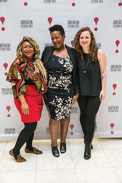 (l to r) Zandria Robinson, Jamey Hatley, and Molly Rose Quinn - DBW PHOTOGRAPHY