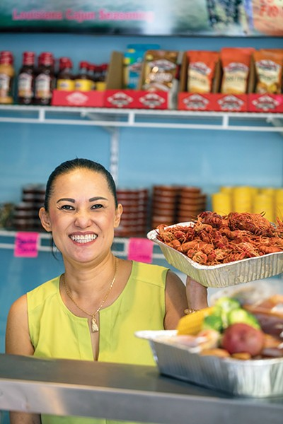 Tuyen Le of New Orleans Seafood