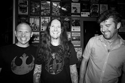(left to right) David Wade, Joey Killingsworth, - and Brian Costner - JOHN PICKLE