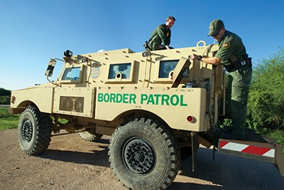 U.S. border patrol - COURTESTY OF U.S. CUSTOMS AND BORDER PROTECTION