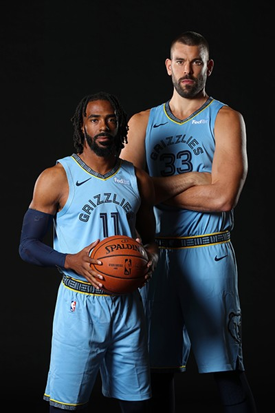 Mike Conely and Marc Gasol - JOE MURPHY/NBAE