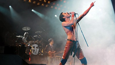The script fizzles more than sizzles, but Rami Malek shines as Queen frontman Freddie Mercury.