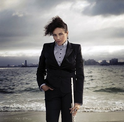 Afrofuturist flutist - Nicole Mitchell - KRISTI SUTTON ELAIS