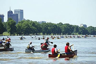 The Outdoors Inc. Canoe and Kayak Race. - JOE ROYER