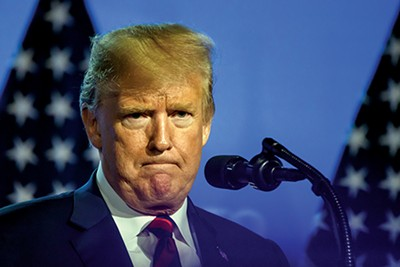 President Trump - GINTS IVUSKANS | DREAMSTIME.COM