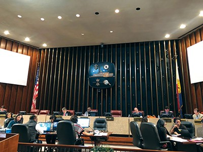 The Memphis City Council (above) has been much in the news in 2018 and still has hanging business to be completed in the new year. - MAYA SMITH