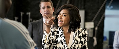 Taraji P. Henson (above) rules the screen in Adam Shankman's What Men Want.