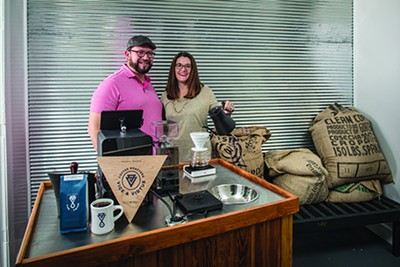 Tim and Teri Perkins of Vice & Virtue Coffee