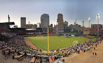 A full house watches Memphis 901 FC at AutoZone Park. - MEMPHIS 901 FC